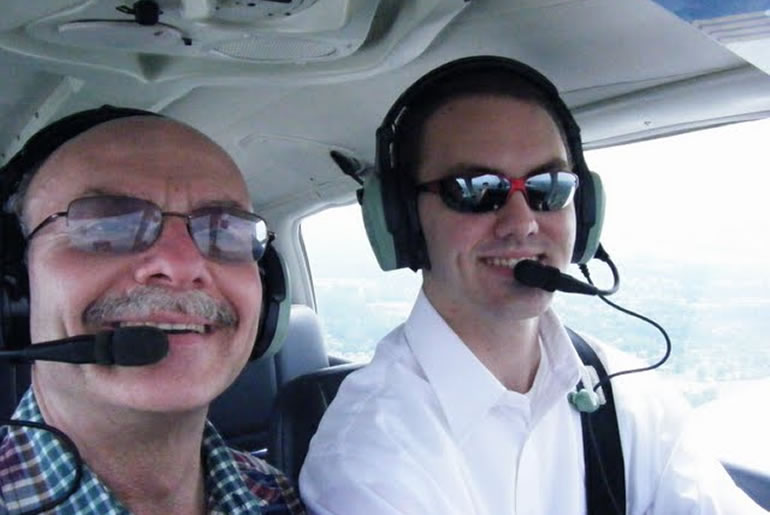 Father Son First Flight
