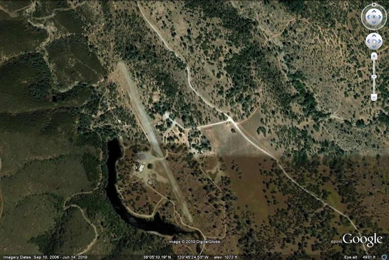 Calveras County Google Earth