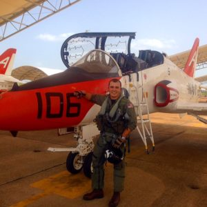 June 30, 2014 first solo in the T-45C