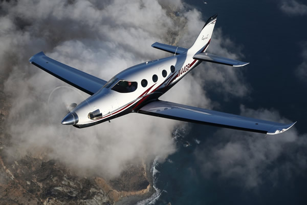 Flying over Coastline