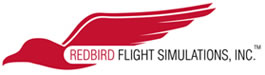 Redbird Simulator Training Logo